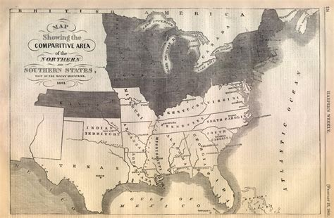 civil war map of united states map of the confederacy