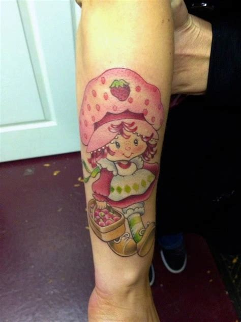 strawberry shortcake tattoo designs strawberry shortcake i like your