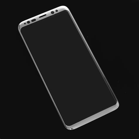 Tempered Glass Myuser 0 25mm Samsung S8 S8 Plus 3d arc edge 0 26mm tempered glass silk screen screen protector for samsung galaxy s8 s8