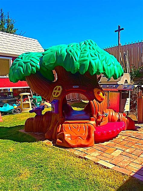 tikes commercial tot tree treehouse playset  sale  glendale az offerup