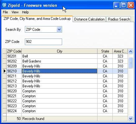 Search By Adress Free Zip Code Lookup By Address Excel Programs Duckbackup