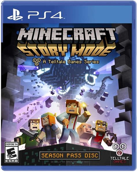 Kaset Ps4 Minecraft Story Mode The Complete Adventure minecraft story mode the complete adventure ps4 microplay