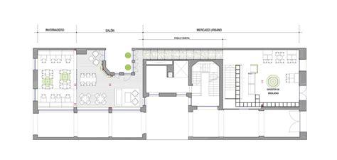 imts floor plan gallery of gust restaurant zooco estudio 10