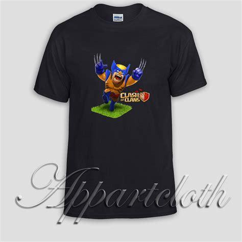 T Shirt Clash Of Clan Black clash of clans unisex tshirt