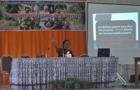 naskah film pendek tentang pendidikan signis indonesia gelar pelatihan pembuatan film pendek