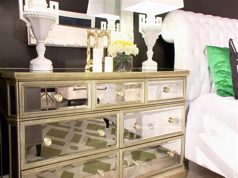mirrored bedroom dressers photos hgtv