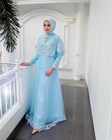 Kebaya Muslim 17 gambar kebaya muslim modis untuk pesta wisuda dan