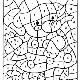 top 10 free printable color by number coloring pages online adult color by number pages give the best coloring pages