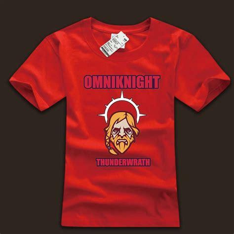 Kaos T Shirt Tshirt Dota 2 dota 2 omniknight t shirt cotton 3xl size mens wishining