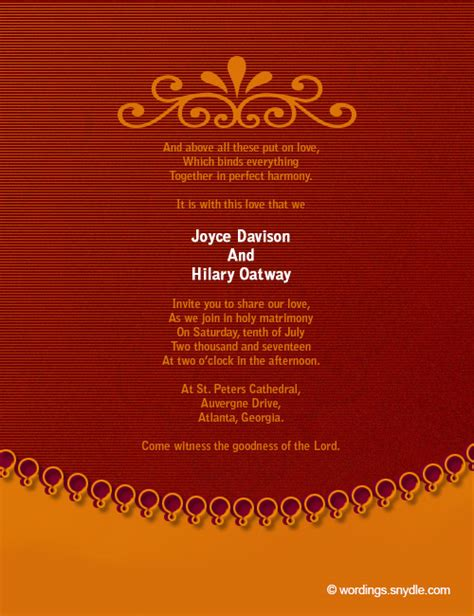 Wedding Invitation Sles by Wedding Invitation Quotes In Tamil Wedding Invitation Ideas