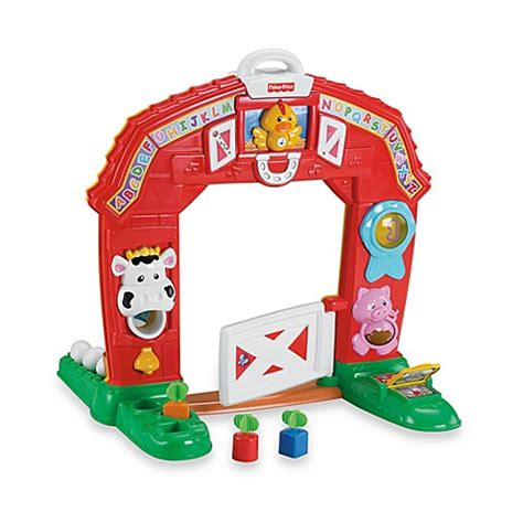 Fisher Price On The Farm laugh learn learning farm by fisher price 174 bed bath