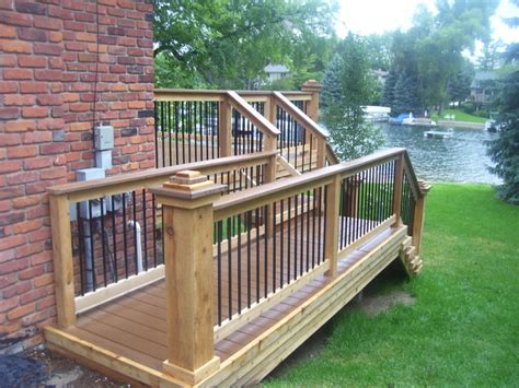 deck bench railing deck accessories including lighting benches and railing