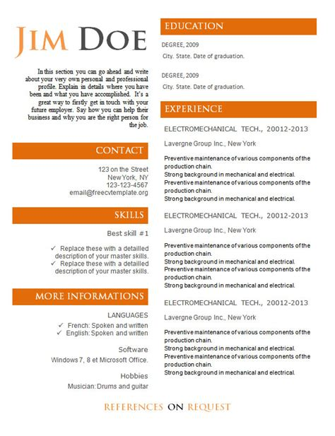 Professional Resume Sles Pdf by Resume Sles Word Document 28 Images Consulting Resume