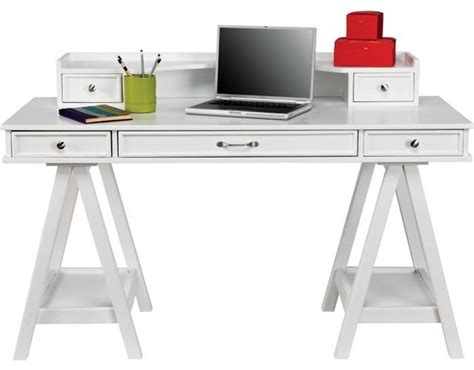 cottage colors white desk hutch contemporary desks
