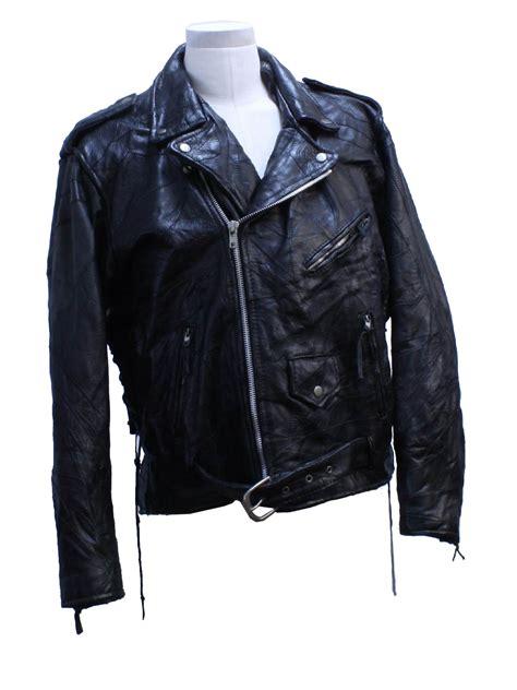 Patchwork Leather Jacket - vintage italian 1990s leather jacket 90s italian