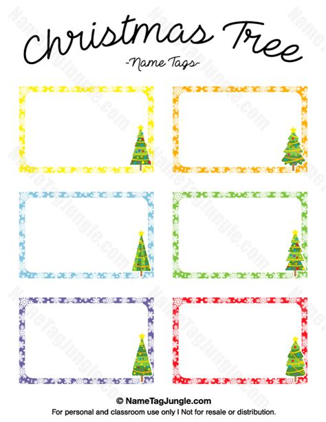 Tree Place Card Template by Free Printable Tree Name Tags The Template Can