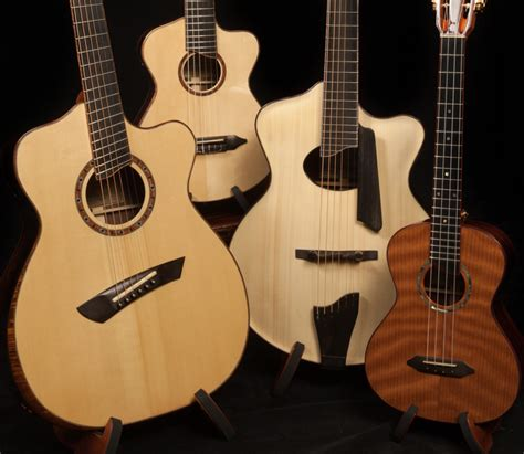 Handcrafted Guitars Acoustic - file lichty custom acoustic guitars jpg wikimedia commons