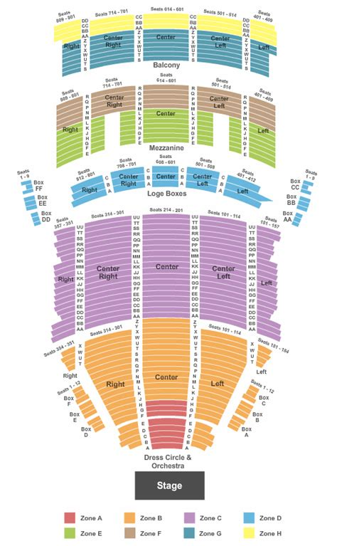 state theater seating chart cleveland tickets seating chart keybank state theatre