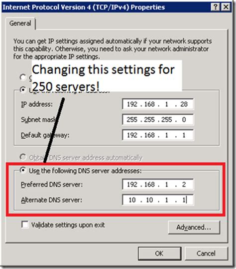 how to reset an ip address for time warner internet information technologies changing network adapter dns