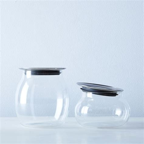 glass kitchen canisters airtight 25 best glass canisters ideas on bulk food