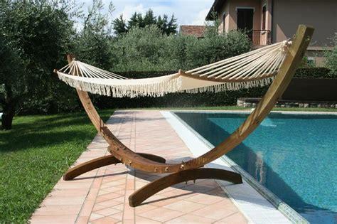 amaca con supporto amaca da giardino il relax a portata di mano noi vi
