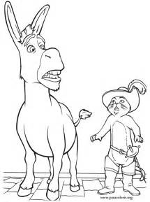 donkey coloring pages az coloring pages