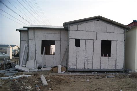 fast construction house eps sandwich panel vj t800