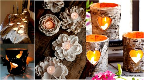 Home Decor Diy Projects 40 extremely clever diy candle holder projects for your home