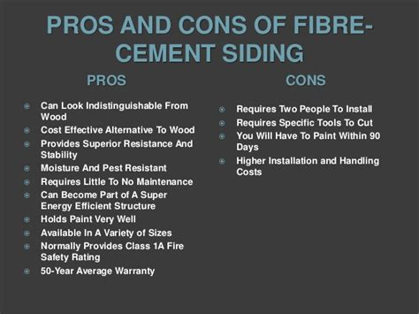 Fiber Cement Siding Pros And Cons | fiber cement siding pros and cons external finishes fibre