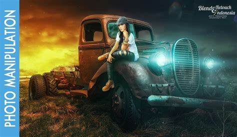 Car Photoshop Effects by Photoshop Photo Manipulation Tutorial Effects Gilr And