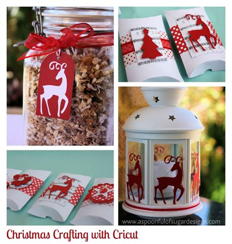 christmas paper crafts giveaway win a cricut mini