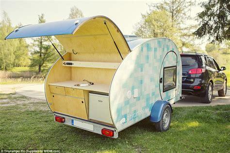 small caravan this adorable small caravan is the perfect cozy travel pod