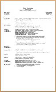 Exle Of Lpn Resume by Exles Of Graduate Resumes Resume Template Exle