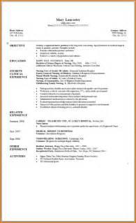 Lpn Resume Exle by Exles Of Graduate Resumes Resume Template Exle