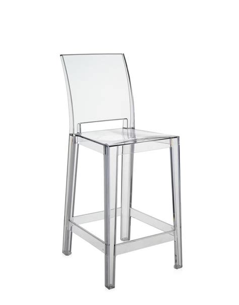 sgabello trasparente sedute in policarbonato trasparente di kartell arredare