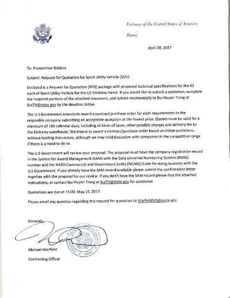 invitation letter to us embassy for visa sle invitation