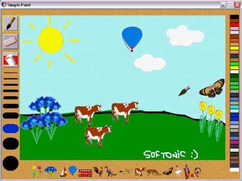 kids online paint and draw activity kids software simple paint download