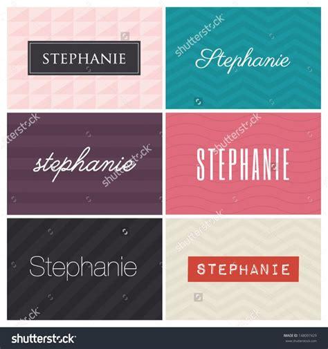design elements names 123 best stephanie images on pinterest names pink black