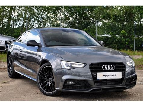 audi a5 coupe black edition review used audi a5 coupe 2 0 tdi black edition plus 177ps for