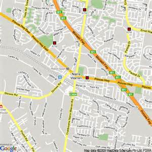 map of narre warren hotels accommodation