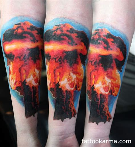 mushroom cloud tattoo 41 best cloud skull tattoos designs images on