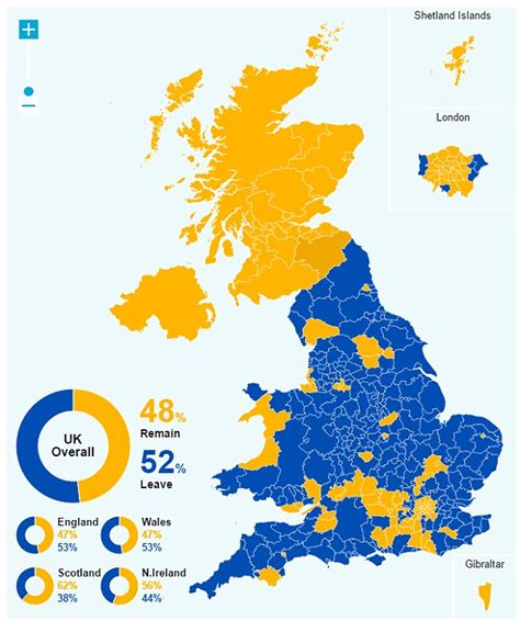map uk leave remain nicola sturgeon says new independence vote is now highly