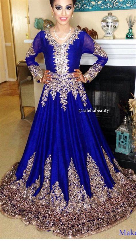 gulrang new year sale 2016 best pakistani dresses 2016 new fashion royal blue long sleeve dresses party