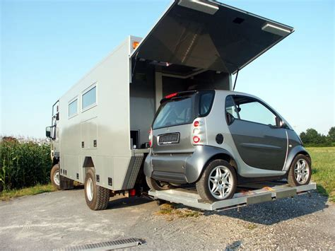 Rv With Smart Car Garage by Expedition Motorhome Journal Covering The World Of
