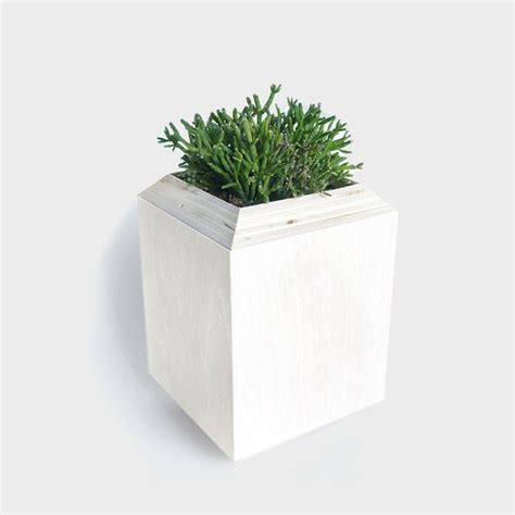 White Planter Box by Mediterranean Colors Planter Boxes From Yield Design