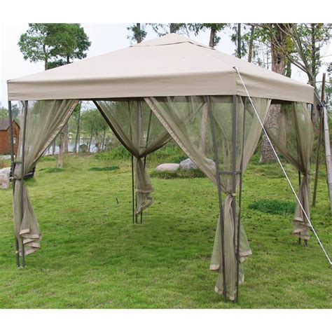 pacific casual gazebo pacific casual single tiered 8 x 8 replacement canopy