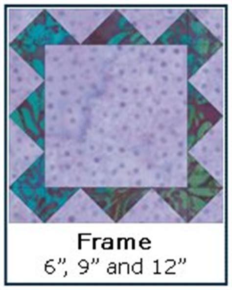pattern block frame free quilt block patterns library