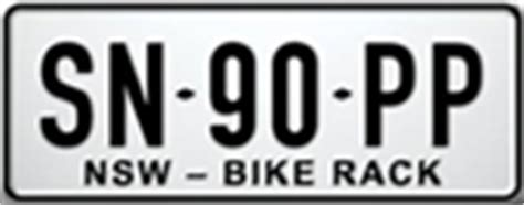 Bike Rack Number Plate Nsw by Frequently Asked Questions Registration Roads Roads