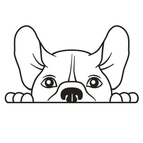 Autoaufkleber Französische Bulldogge Mit Namen hunde comic aufkleber selbst gestalten 187 viele farben gr 246 223 en