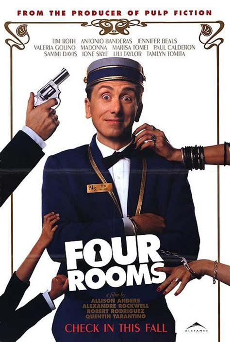four rooms trailer four rooms 1995 poster 2 trailer addict